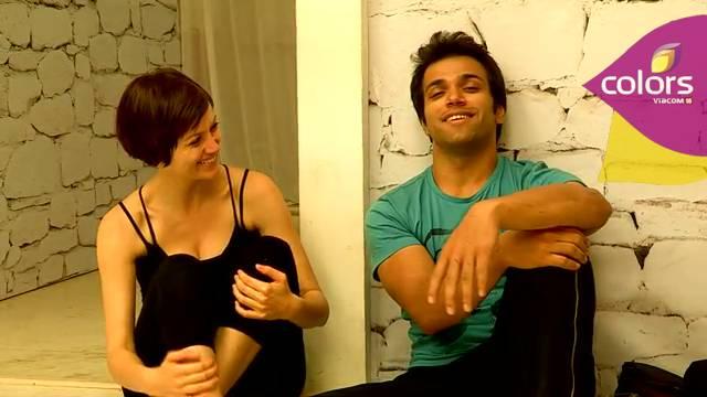 Rithvik rehearses with Yana #Jhalak Dikhhla Jaa