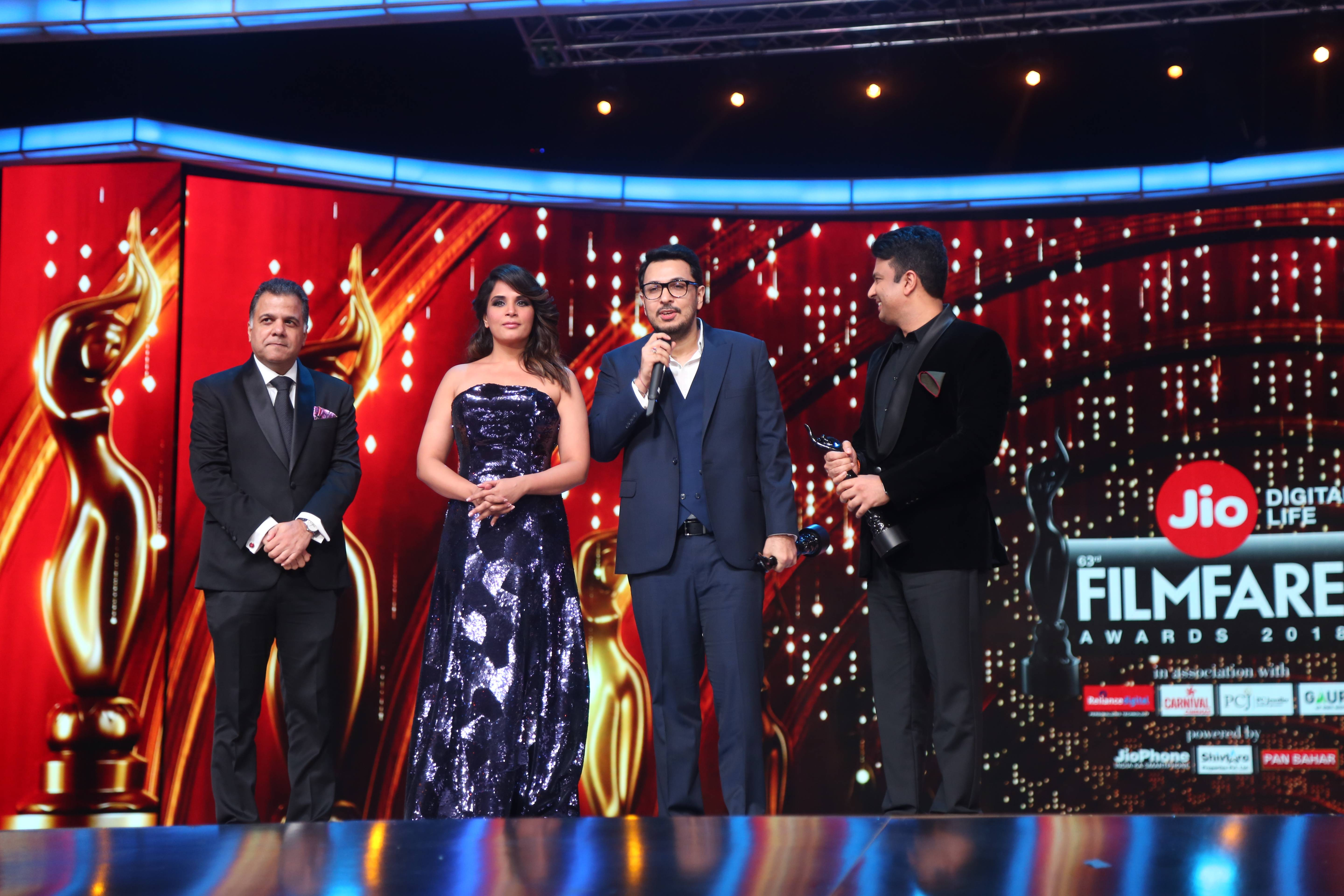 Jio Filmfare Awards 2018: Special moments!