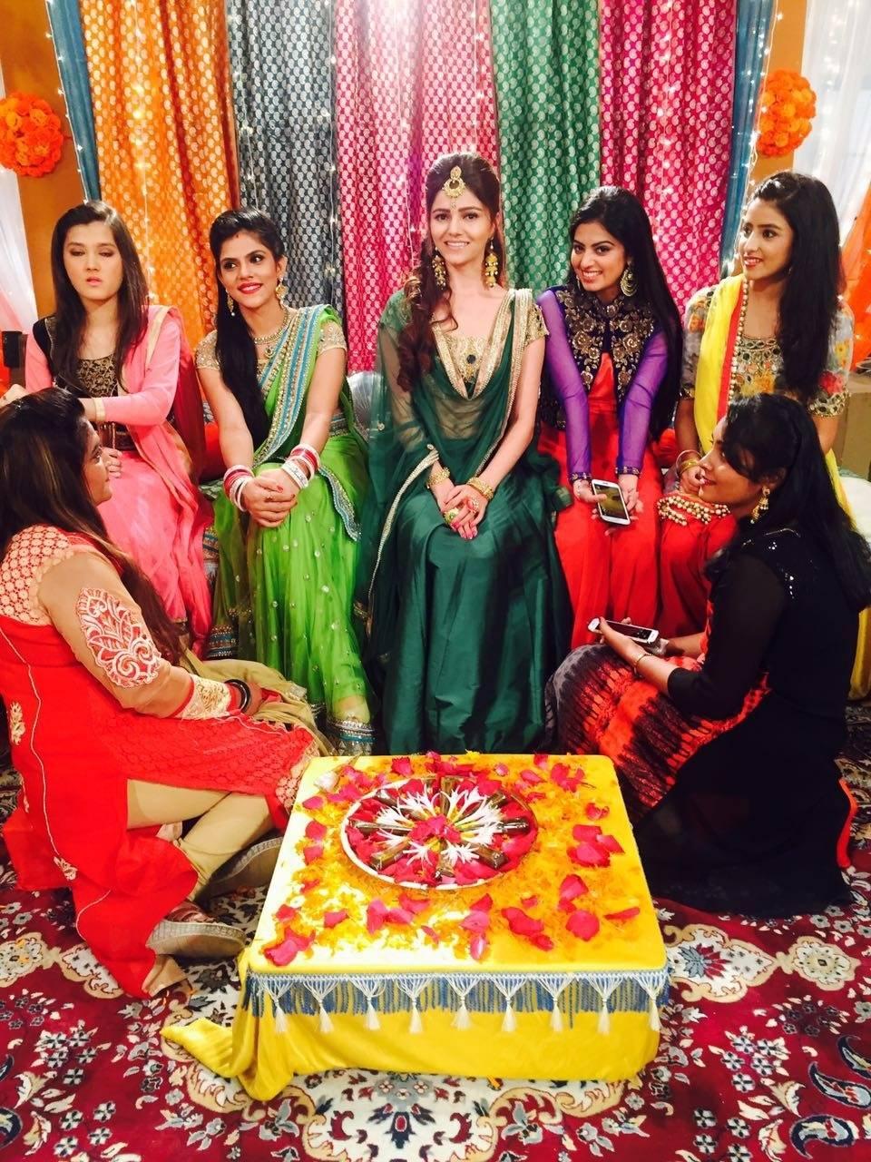 Gorgeous Rubina Dilaik from Shakti gets ready for the grand