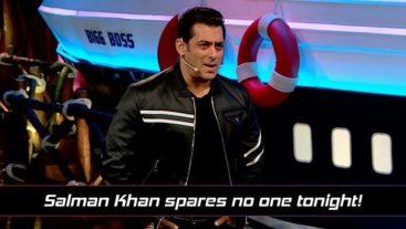Salman khan gives Surbhi and Rohit a reality check