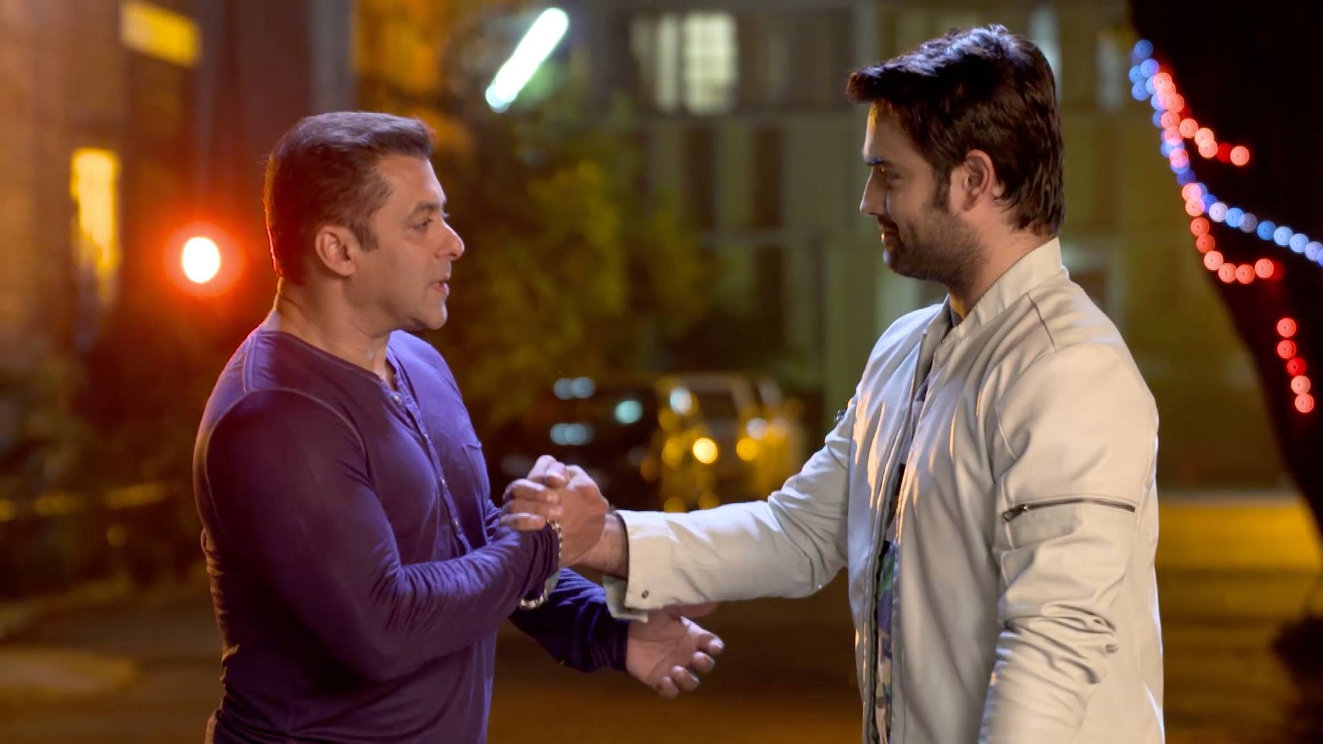 Salman meets Harman on Shakti!