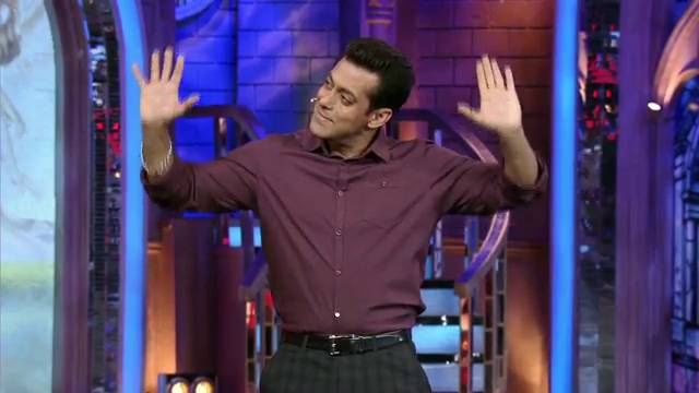 Salman's cute bhangra!: BB Saath – 7, Day 76 #Seg-6