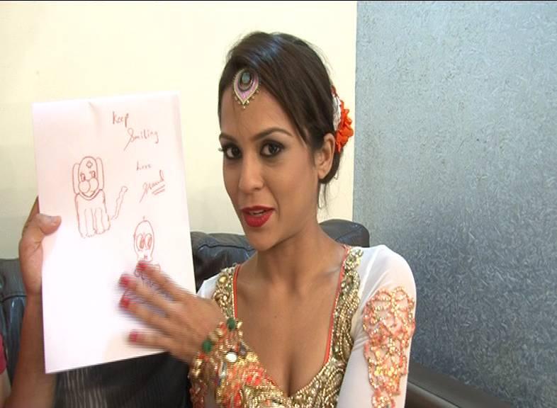 Sana's art attack #Jhalak Dikhhla Jaa – Season 6