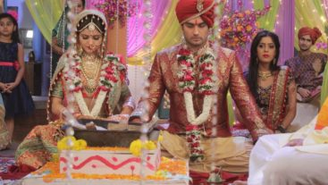Saumya and Harman tie the knot in Shakti