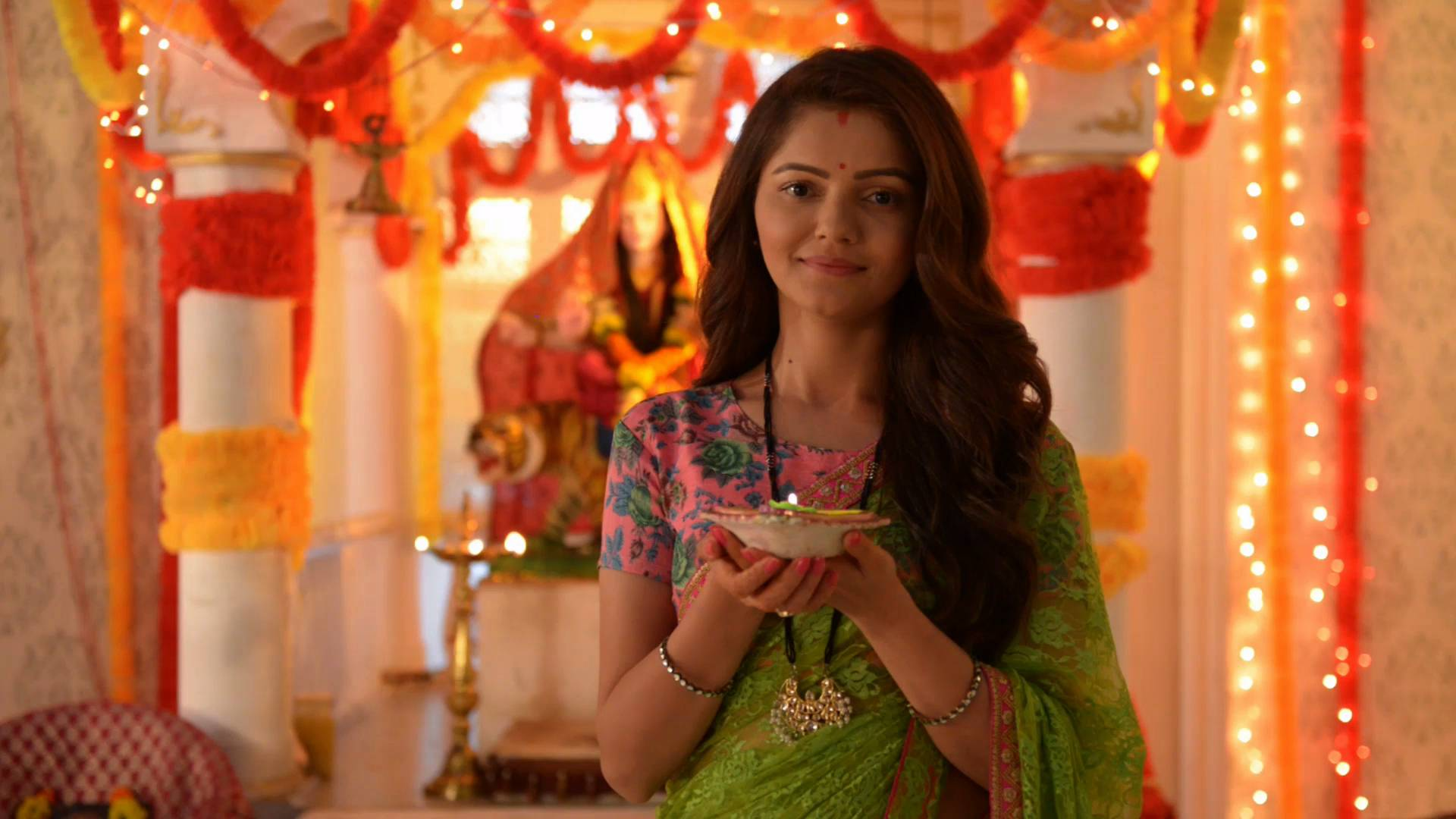 Saumya from 'Shakti' earnestly urges everyone not use crackers on Diwali but enjoy the festivity with sweets and lights!