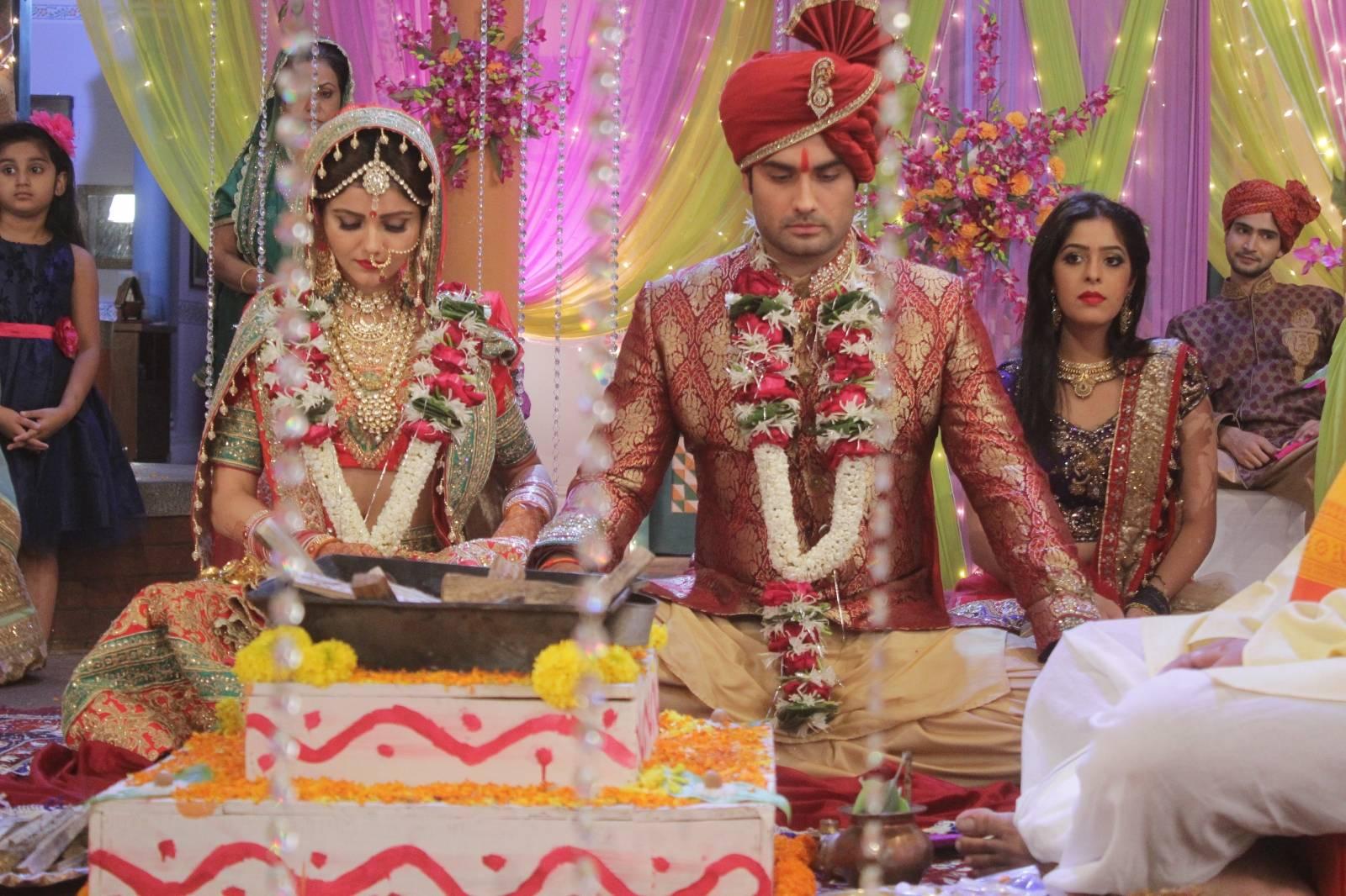 Saumya and Harman tie the knot in Shakti