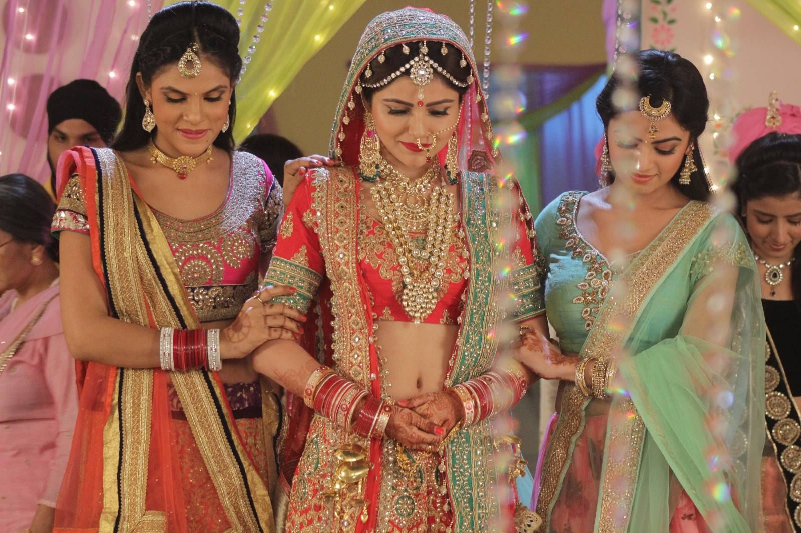 Saumya and Harman tie the knot in Shakti - ColorsTv