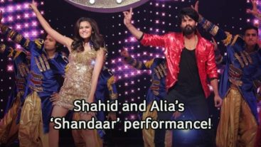 Shahid and Alia All Set To Make The 'Shaam Shandaar' on Jhalak!
