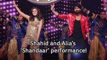 Shahid and Alia All Set To Make The 'Shaam Shandaar' on Jhalak!