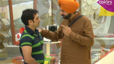 Sidhu plays Cupid in Bigg Boss House!
