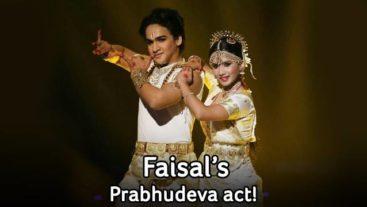 Spoiler Alert: Taking on the 'dance ka badshah' this week on Jhalak !