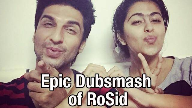 SSK,Exclusive: RoSid rule Dubsmash with this Epic scene!