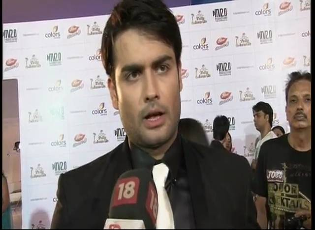 Vivian speaks about his win #Indian Telly Awards – 2013