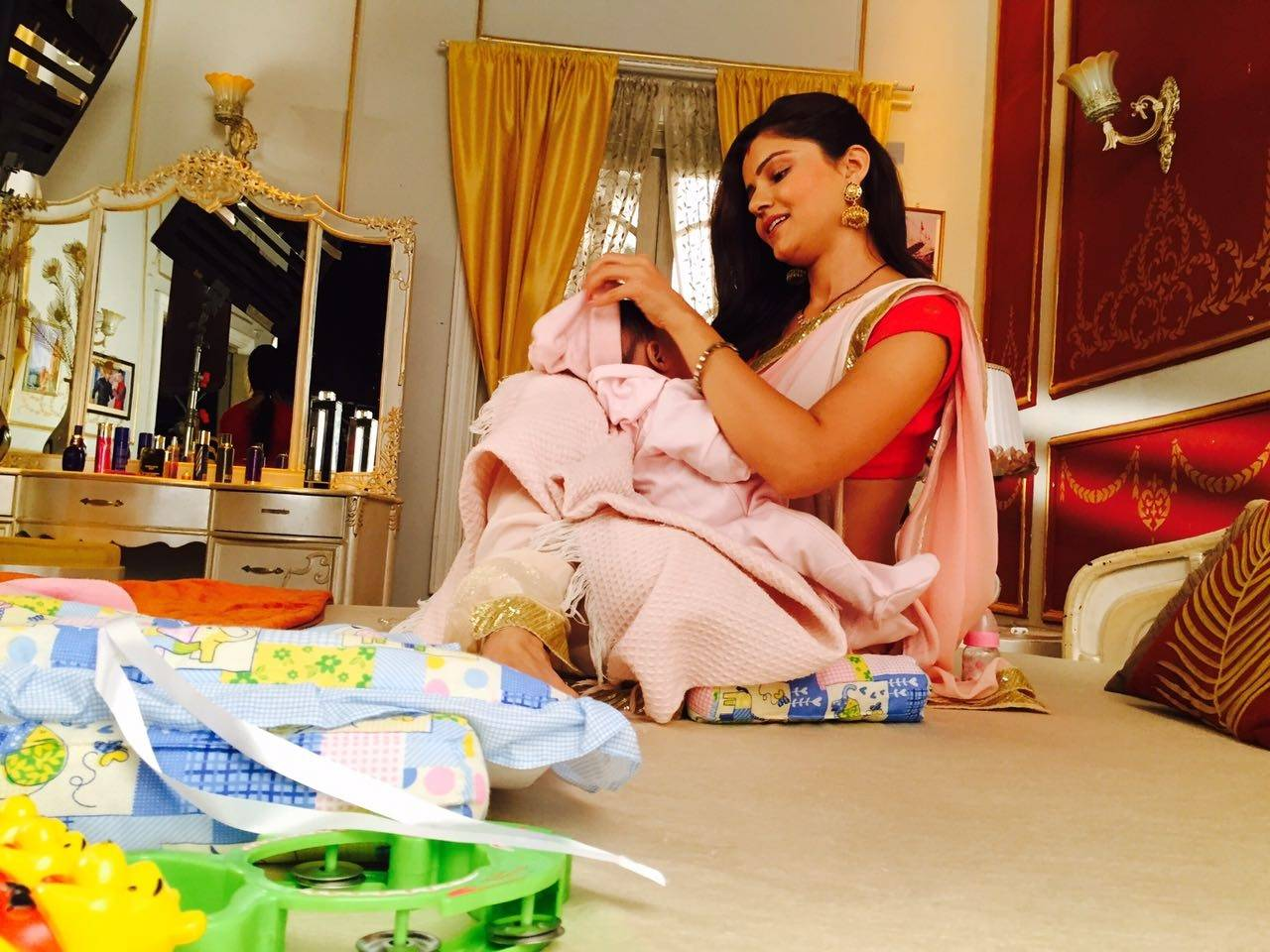 Shakti : Saumya Shares An Adorable Moment With The Baby