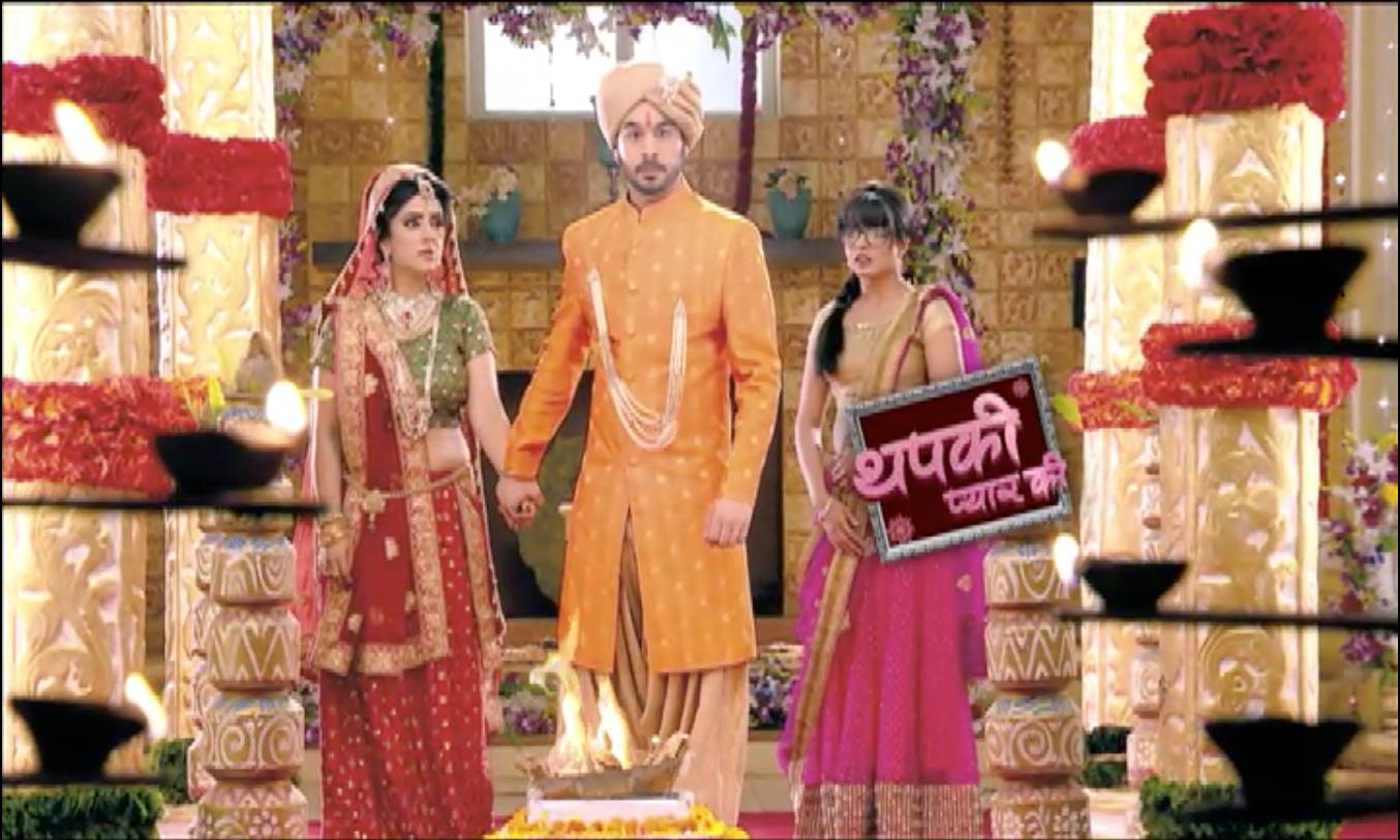 Will Thapki stop Bihaan's second marriage?