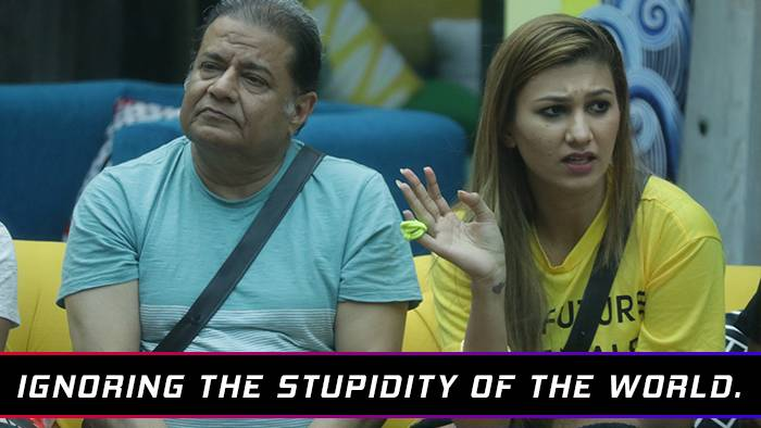 When the contestants are candid as ever!