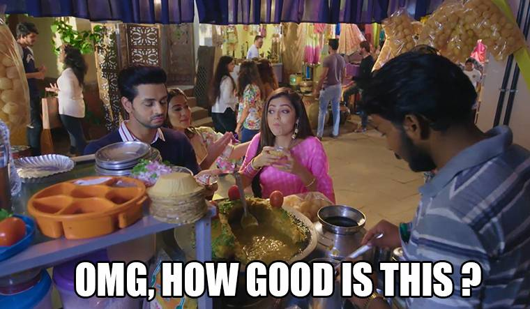 Five Stages of eating Pani Puri ft. Mauli, Nandini & Kunal