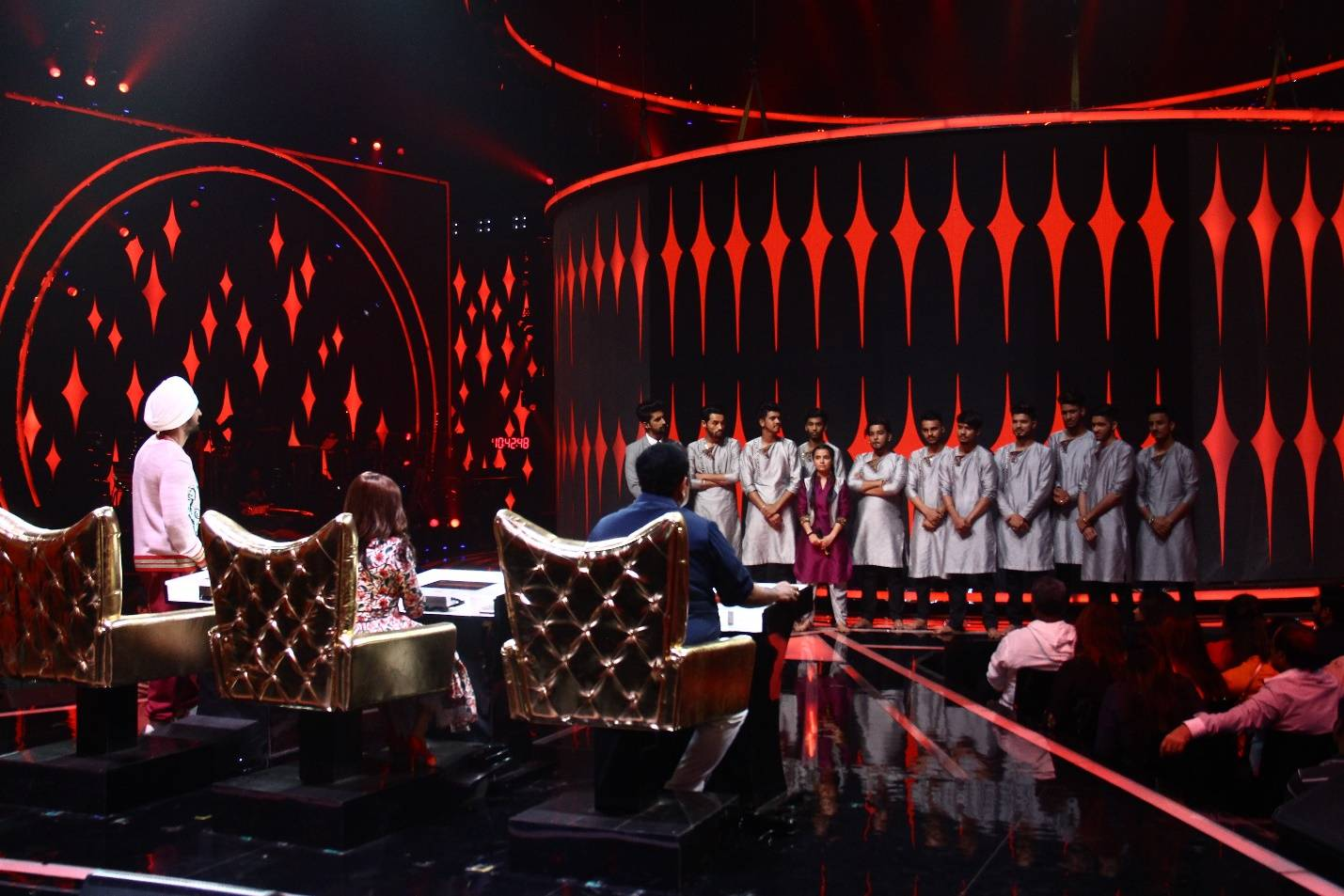 Harmony Chorus and Afreen Group bid goodbye to the stage of Rising Star 2.