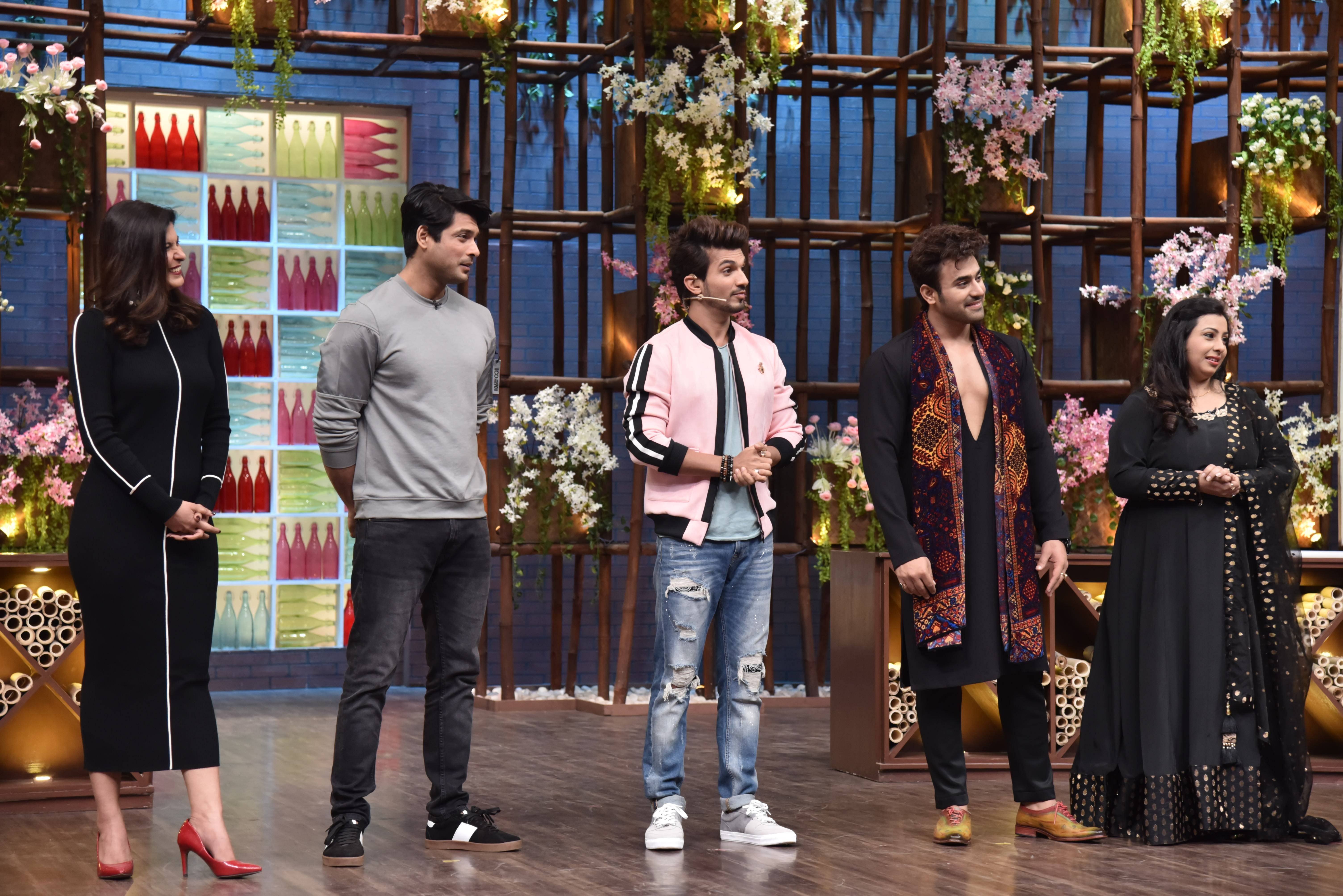 Pearl V Puri and Siddharth Shukla in the house!