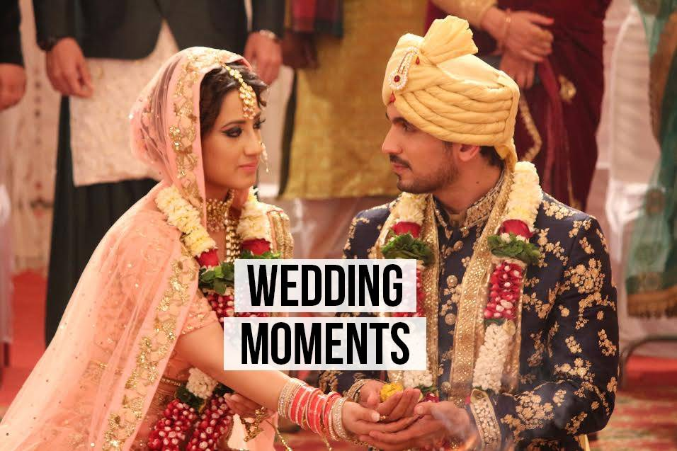 Ishq Mein Marjawan: Deep & Aarohi looked absolutely stunning as bride and groom.