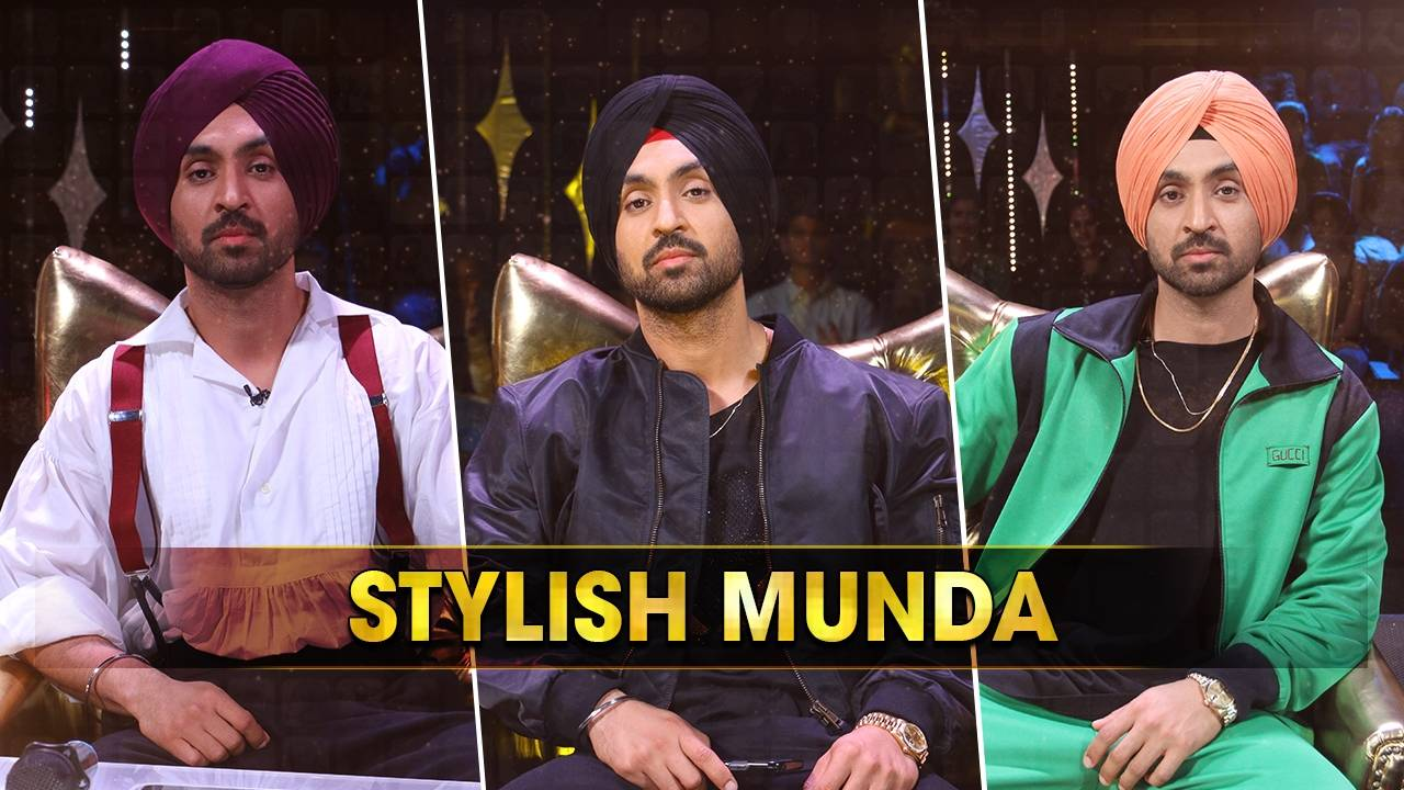 Diljit Dosanjh's style on Rising Star 2 is always one of the best.