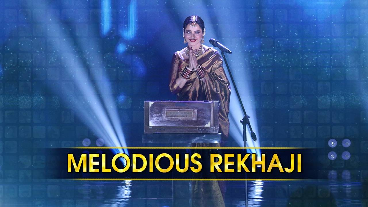 Rekhaji spills magic on the stage of Rising Star 2 with a musical performance.