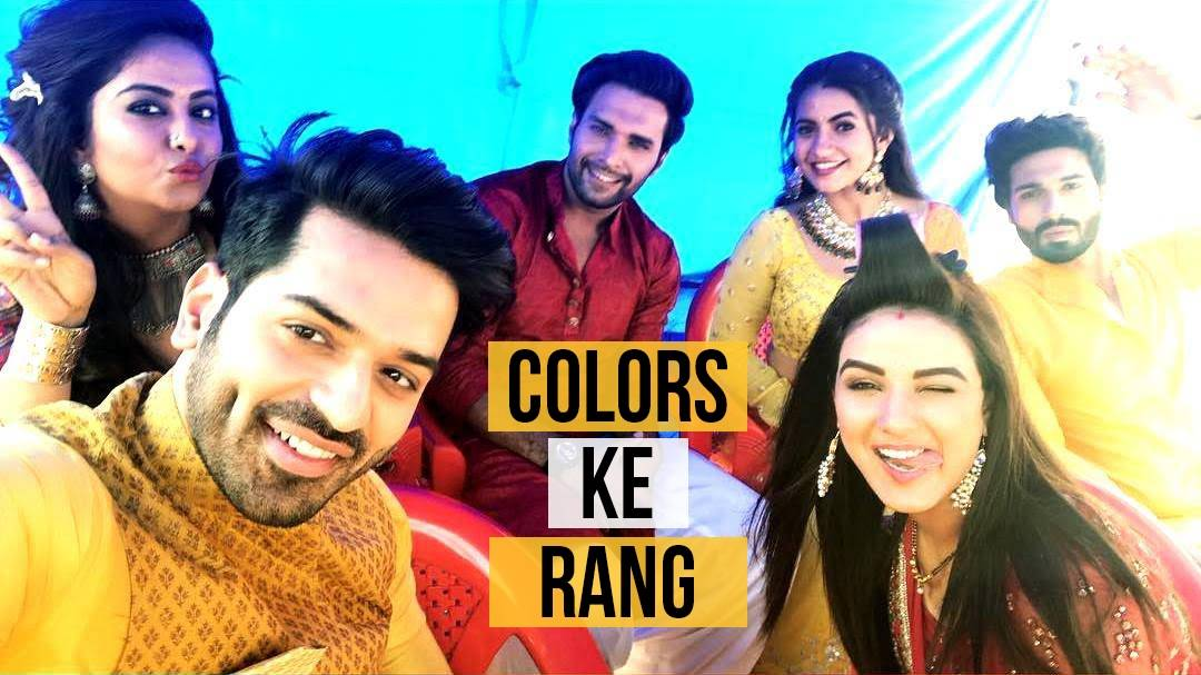 Our on-screen jodis came together to celebrate the festival of COLORS!