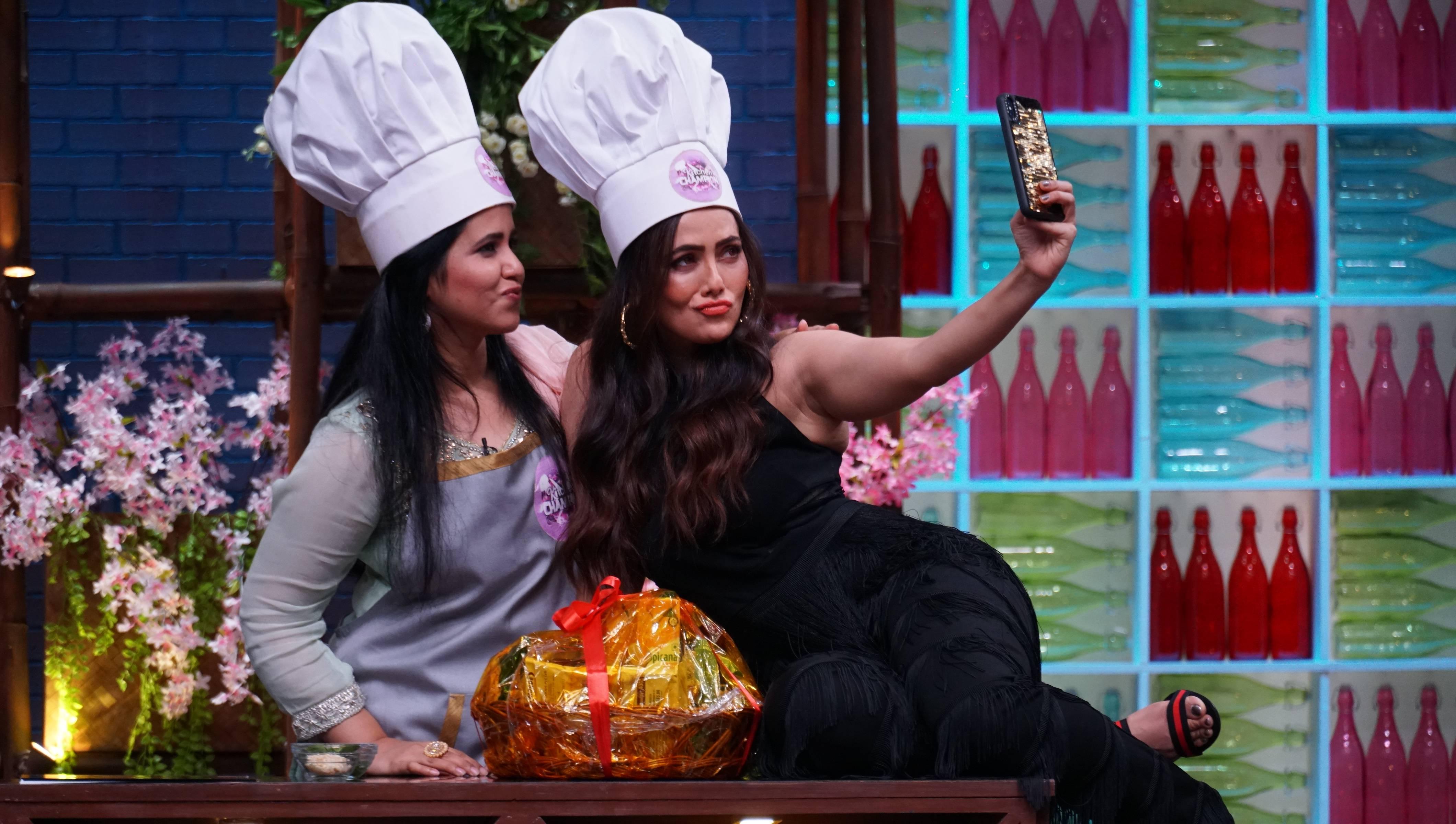 Kya hua jab Sana aur Parth ki mazedaar jodi aayi Kitchen Champions par?