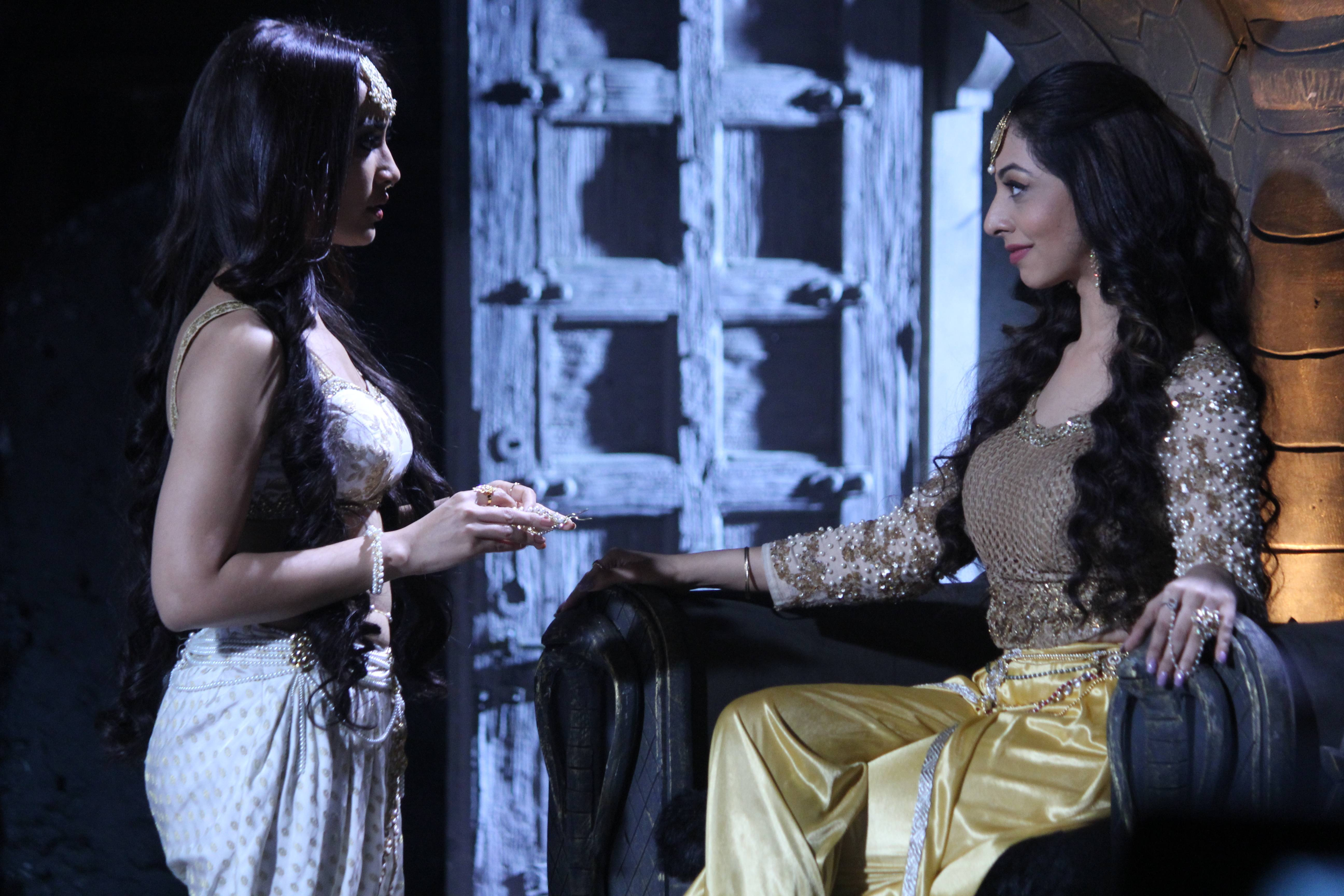 Exclusive stills straight from the sets of Naagin 3