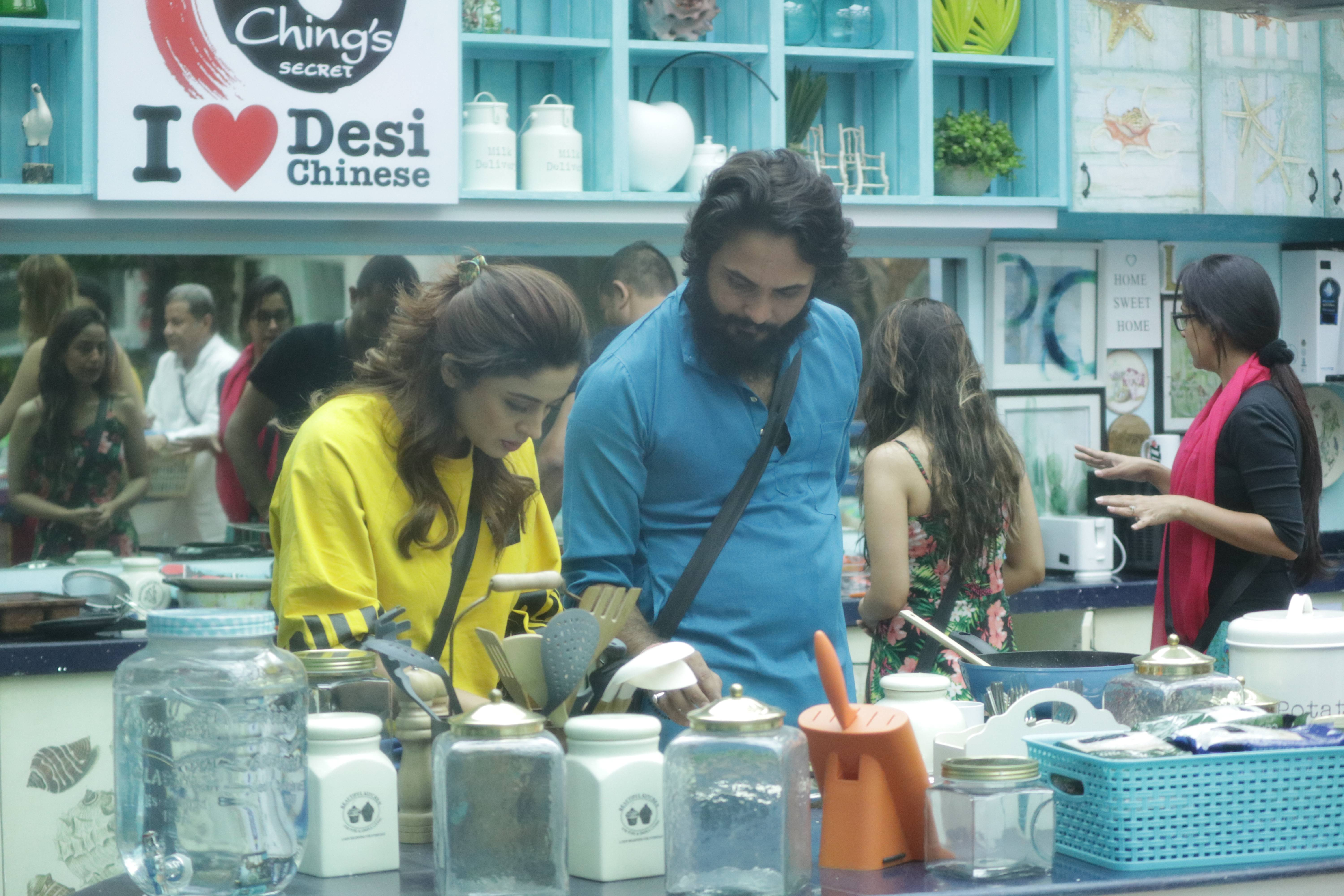 Here's summing up Day 1 in the Bigg Boss House