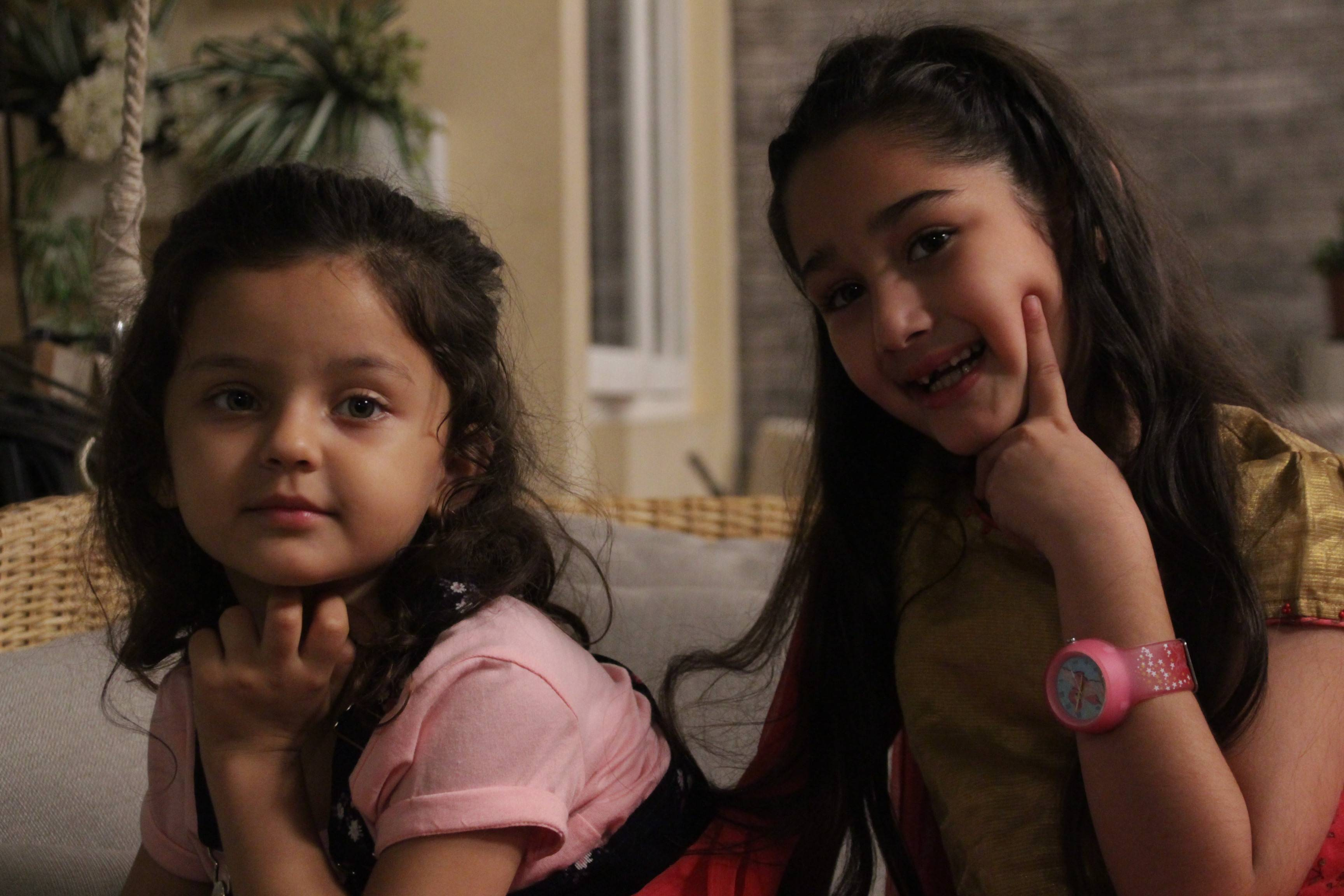 Aren't Pari and Mishti the cutest?