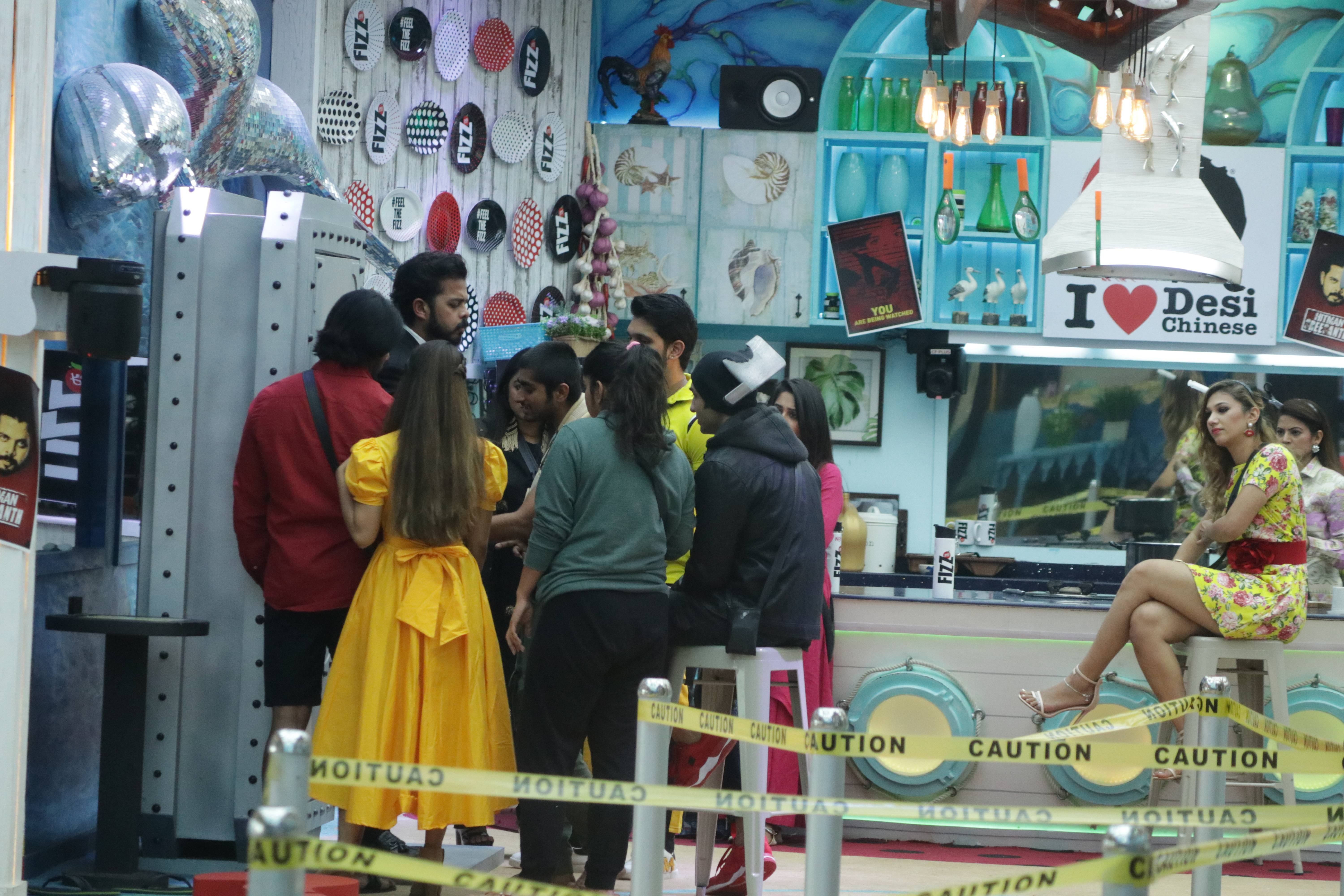 Exclusive stills from the Hitman task!