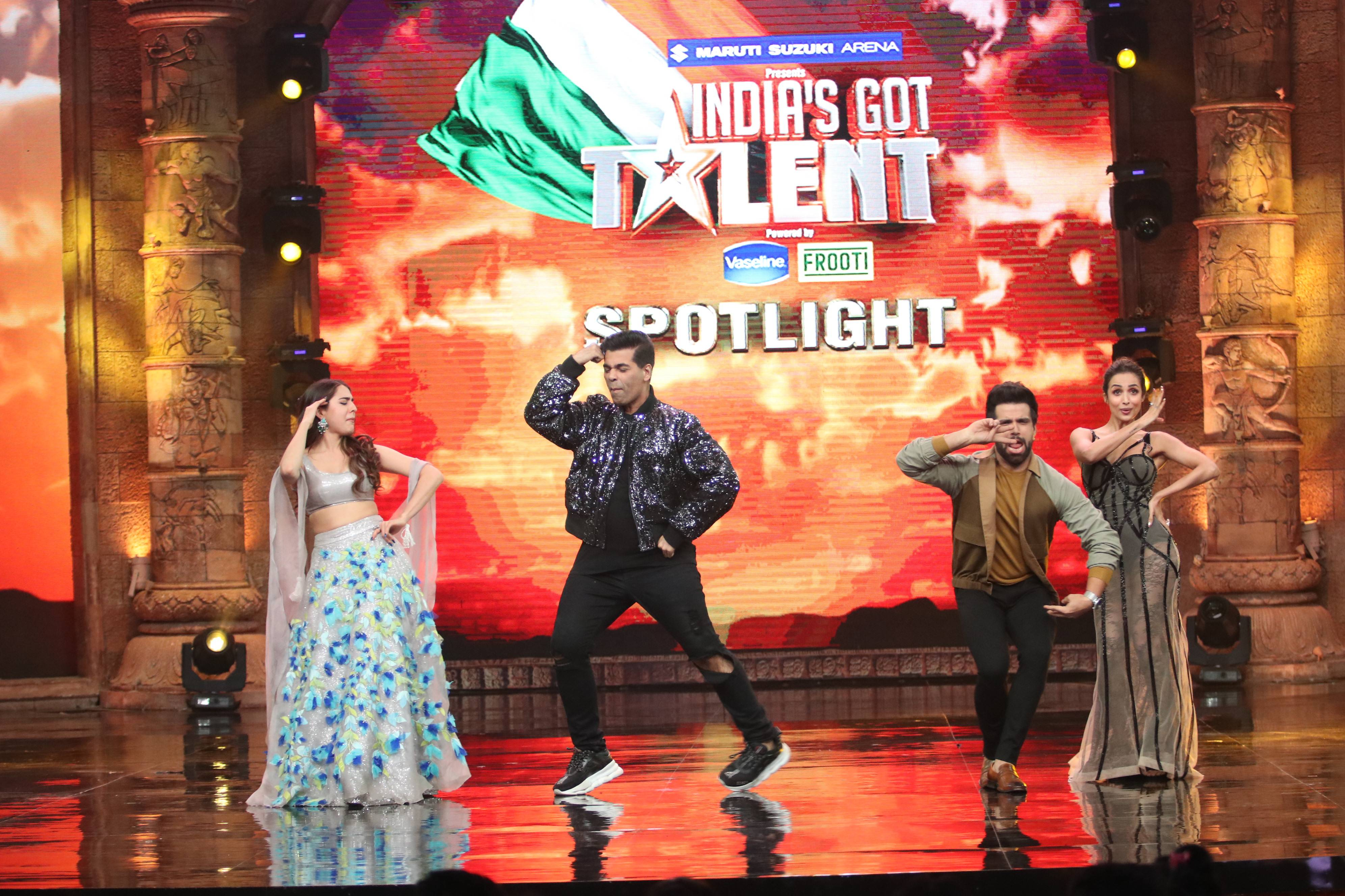 Sushant and Sara take over India's Got Talent Season 8!