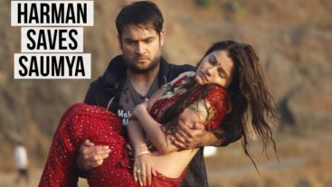 Shakti: Saumya won the challenge after Harman jumped into the river to save her.