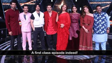 Team Kalank Live on Rising Star 3!