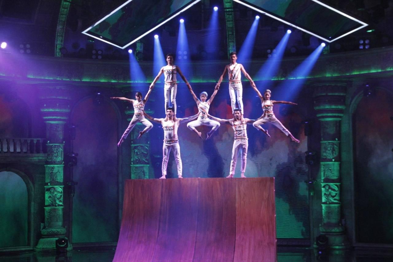 Team ZERO on the sets of India's Got Talent Season 8