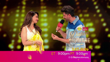 Reliving this fun 90s number with Hrithik Roshan and Madhuri Dixit this time! Tune in this Sat-Sun at 9 pm ET/PT