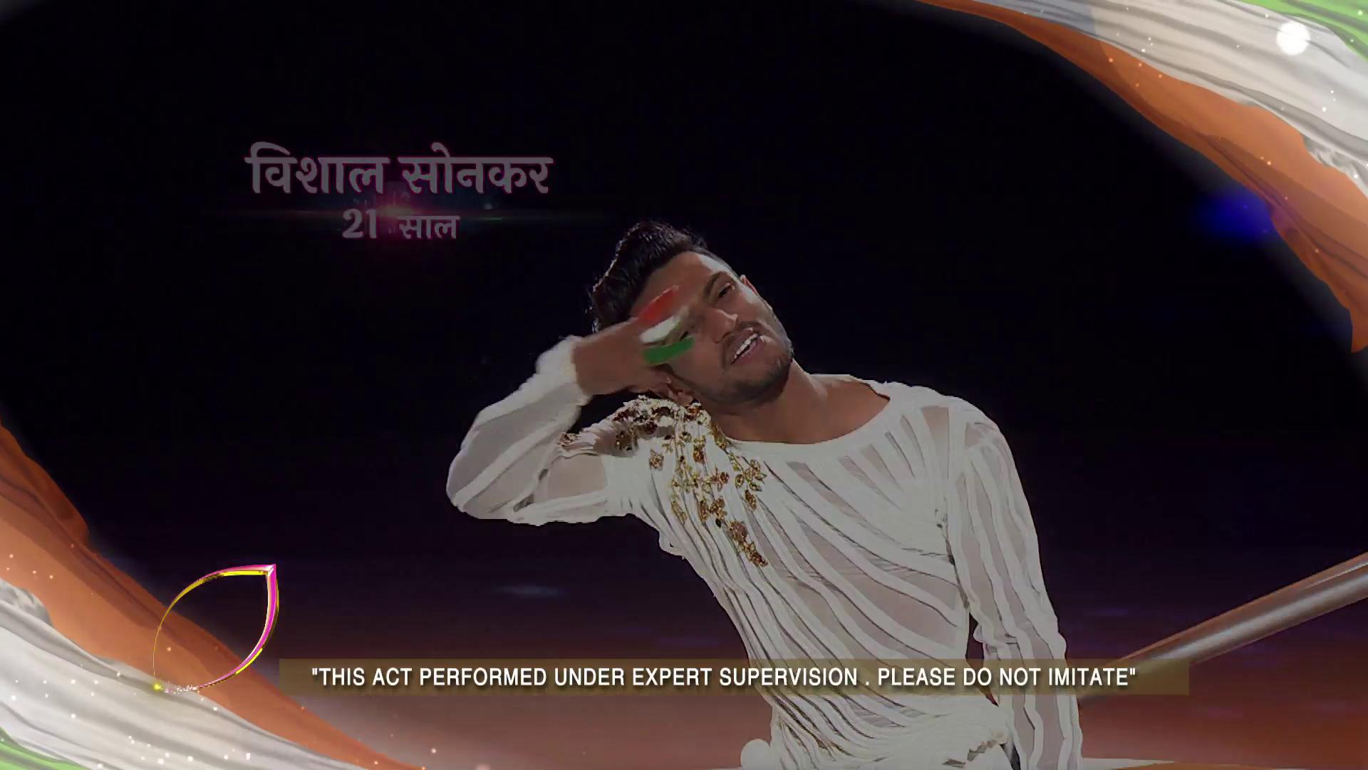 Dekhiye Vishal ka yeh rongte khade kar dene wala performance, Dekhiye Dance Deewane 2.