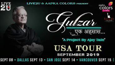 Gulzar USA Tour September 2019