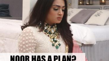 Noor is upset with Azaan?