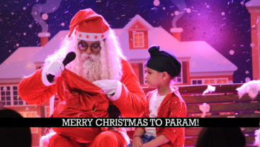 Christmas time for Param!