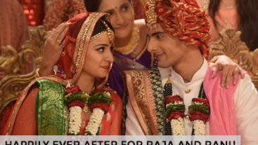 Many obstacles later, Raja and Rani are now married!