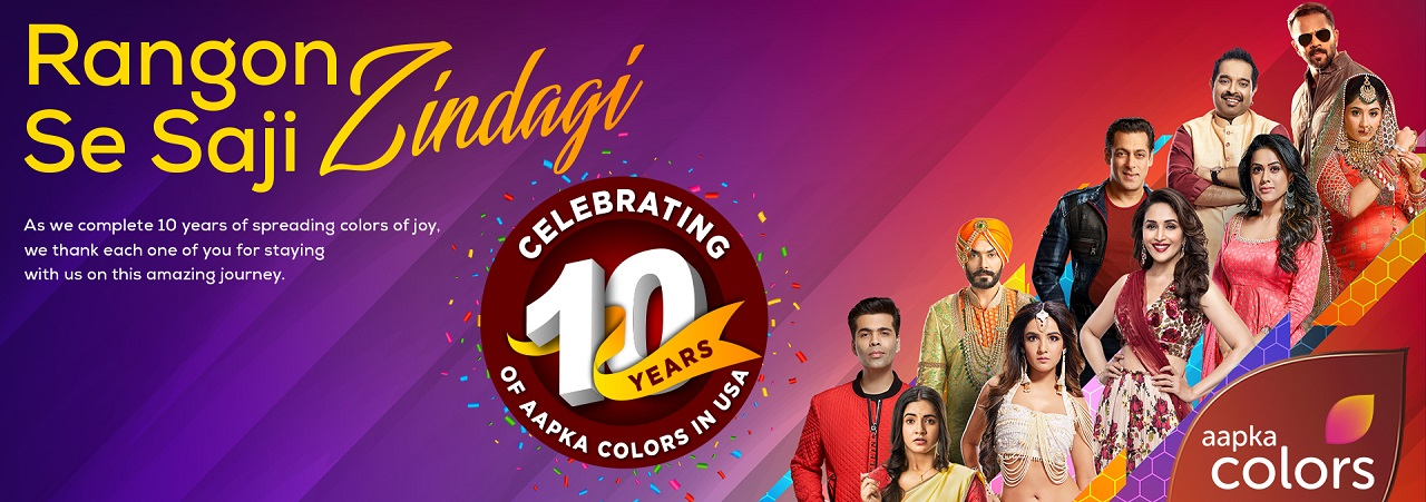 10 Years of Aapka Colors