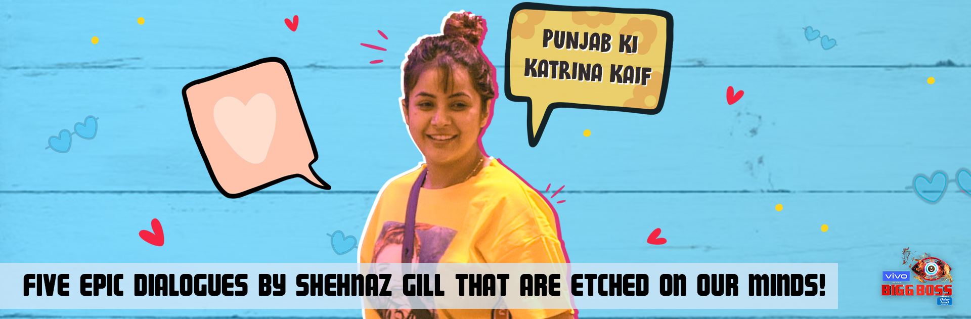 FIVE dialogues by Shehnaz Gill that are etched onto our minds!