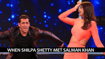 Salman Khan and Shilpa Shetty face-off in a 'Thumka' competition