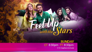 Feet Up With Stars Sunday 8:30 Pm ET/PT