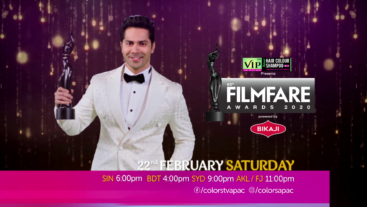 Varun Dhavan hai kaafi excited for Filmfare in Awesome Assam! You?