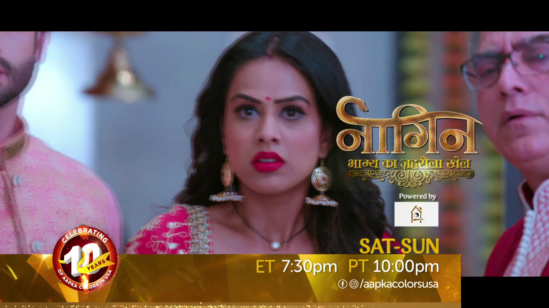 Watch Naagin – bhagya ka zehrila khel Sat-Sun 7:30pm ET/ 10pm PT
