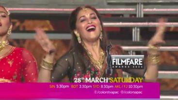 Film Fare Awards 28 March Saturday 5:30 PM SIN