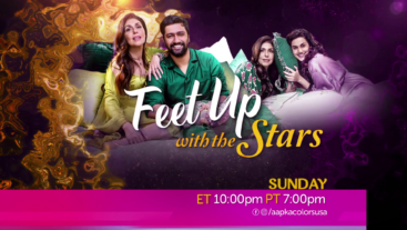 Feet up with Stars Sunday 10pm ET / 7pm PT